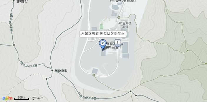 서울대학교 엔지니어 하우스 찾아오시는 길 – 다음 지도
